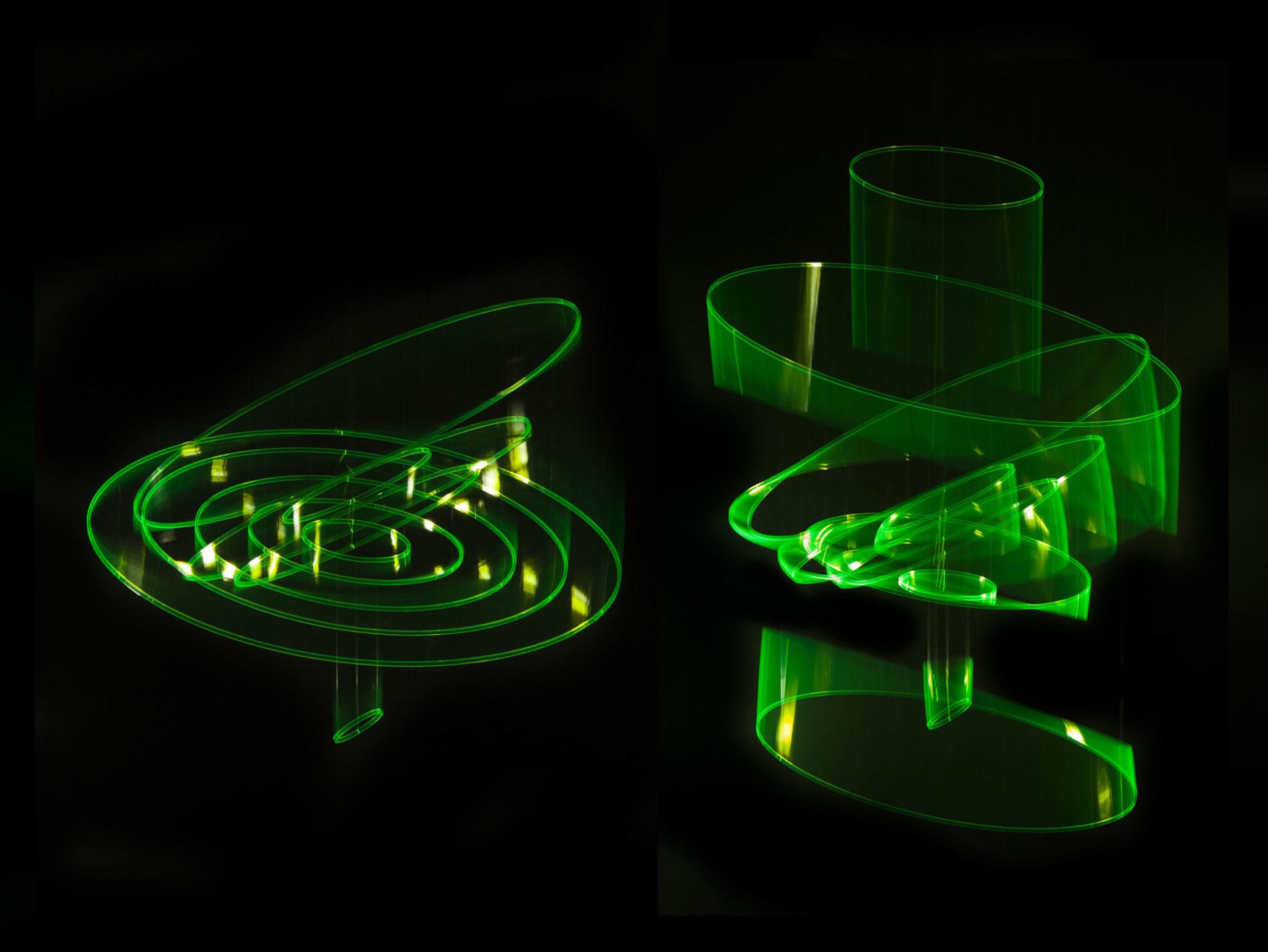 Elias Crespin Circuconcentricos Fluo Vert