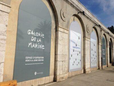 Galerie de la Marine Nice Elias Crespin