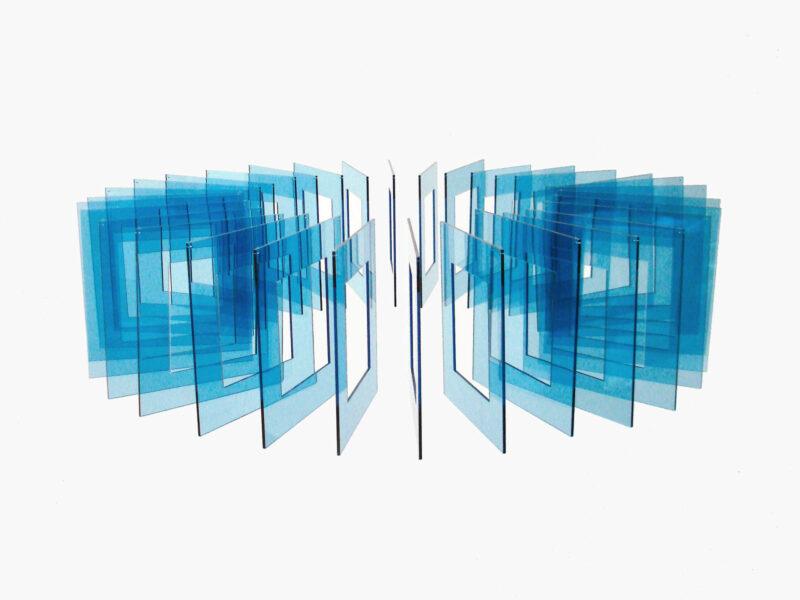 Elias Crespin Tetralineados Circular Azul