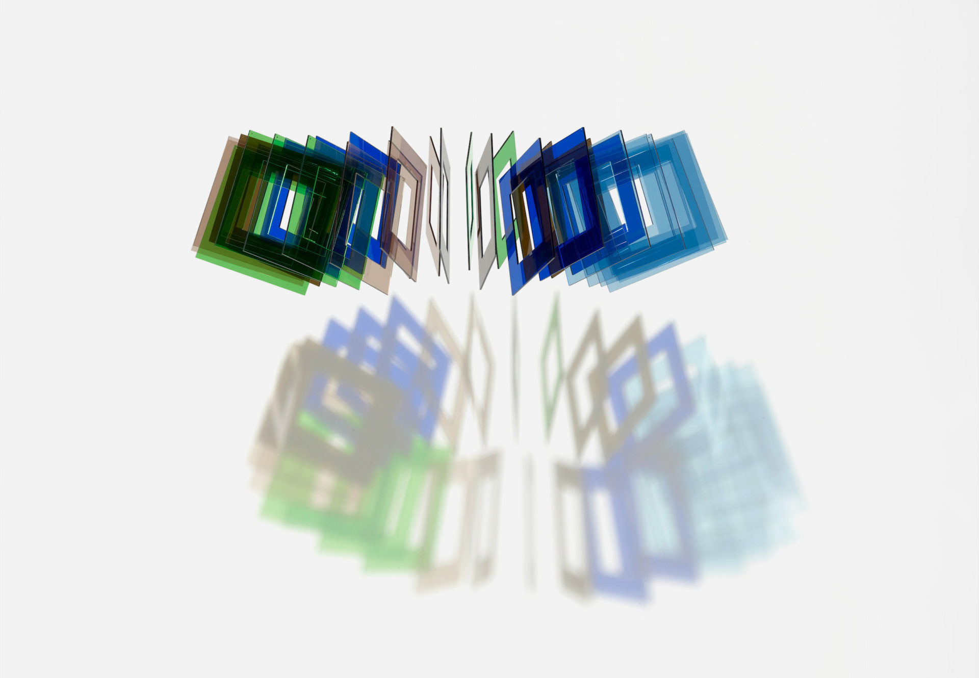 Elias Crespin Tetralineados Circular Policromatico