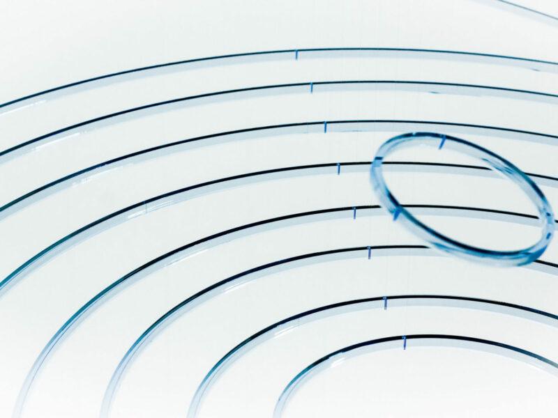 Elias Crespin Circuconcentricos Fluo Bleu