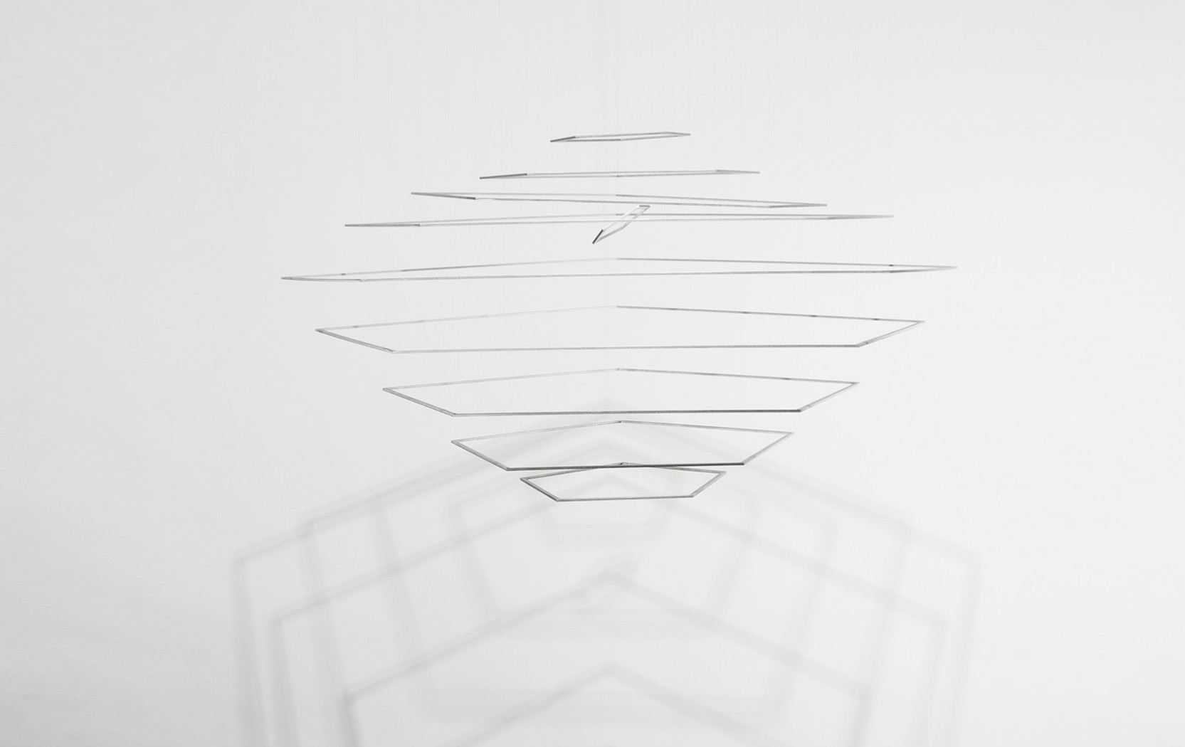 Elias Crespin Pentaconcentricos Aluminio